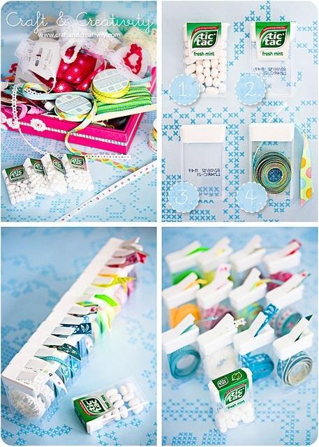 ribbon  storage idea