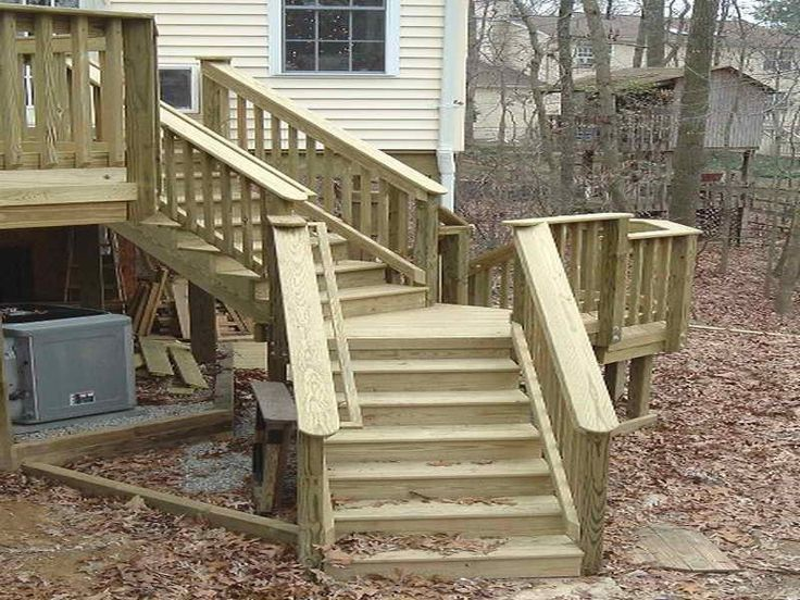 How To U0026 Repairs : Building Deck Stairs Cost To Build A Decku201a How To Make  Stairsu201a How To Build A Deck Railing Also How To U0026 Repairss