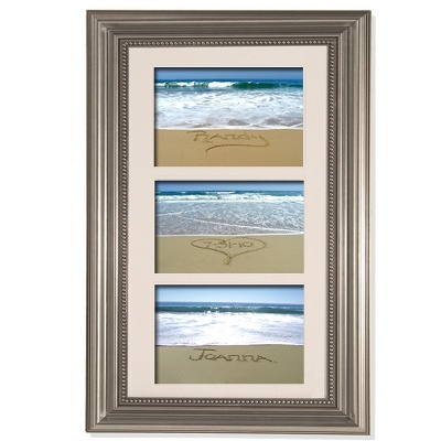 Trio Sand Wedding Memories Frame | Wedding Frames