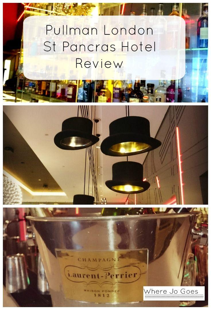 Review Pullman London St Pancras Hotel.  Luxury hotels London.  London hotels.  Family friendly hotels London.