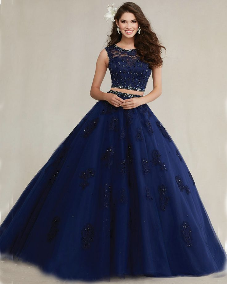 Best 25  Navy blue quinceanera dresses ideas on Pinterest