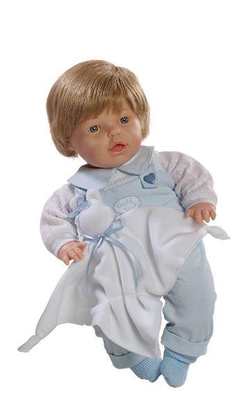 Realistické  miminko chlapeček  s  více funkcemi od firmy Berjuan ze Španělska