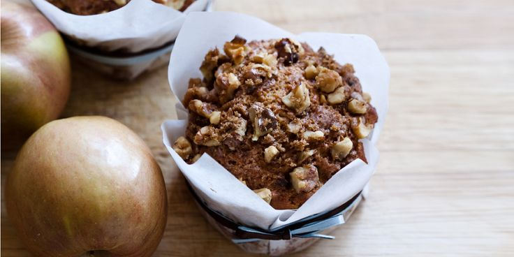 These Apple and Walnut Muffins are the perfect recipe that can be eaten for dessert or for breafast.