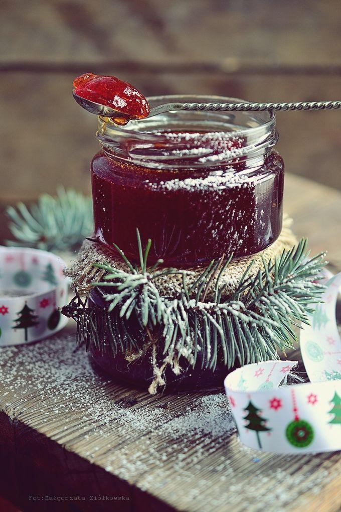 Smaki Alzacji : Galaretka winno jabłkowa idelana jako prezent pod choinkę :-)