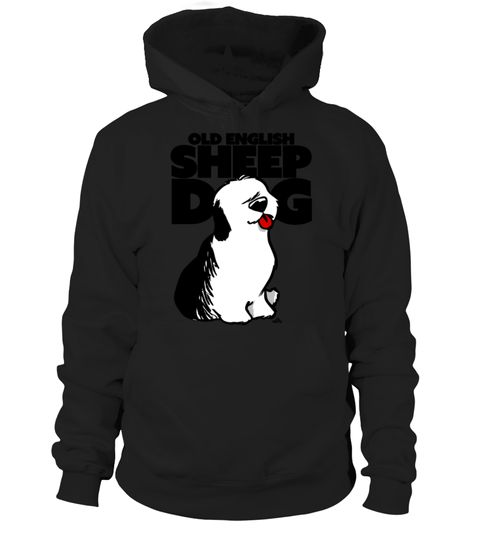 Old English Sheep Dog Cartoon T Shirt By DogiStyle