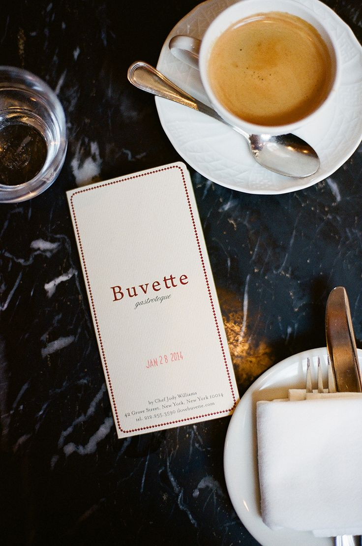 When I go to Buvette in NY, I feel I am transported to a cafe in Paris. http://newyork.ilovebuvette.com/