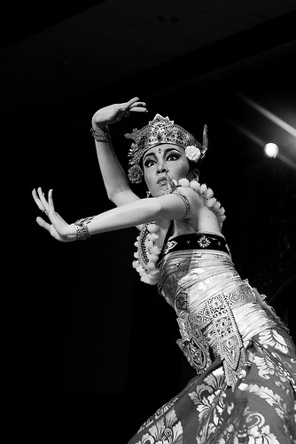 Ismail Ilm, Balinese dancer