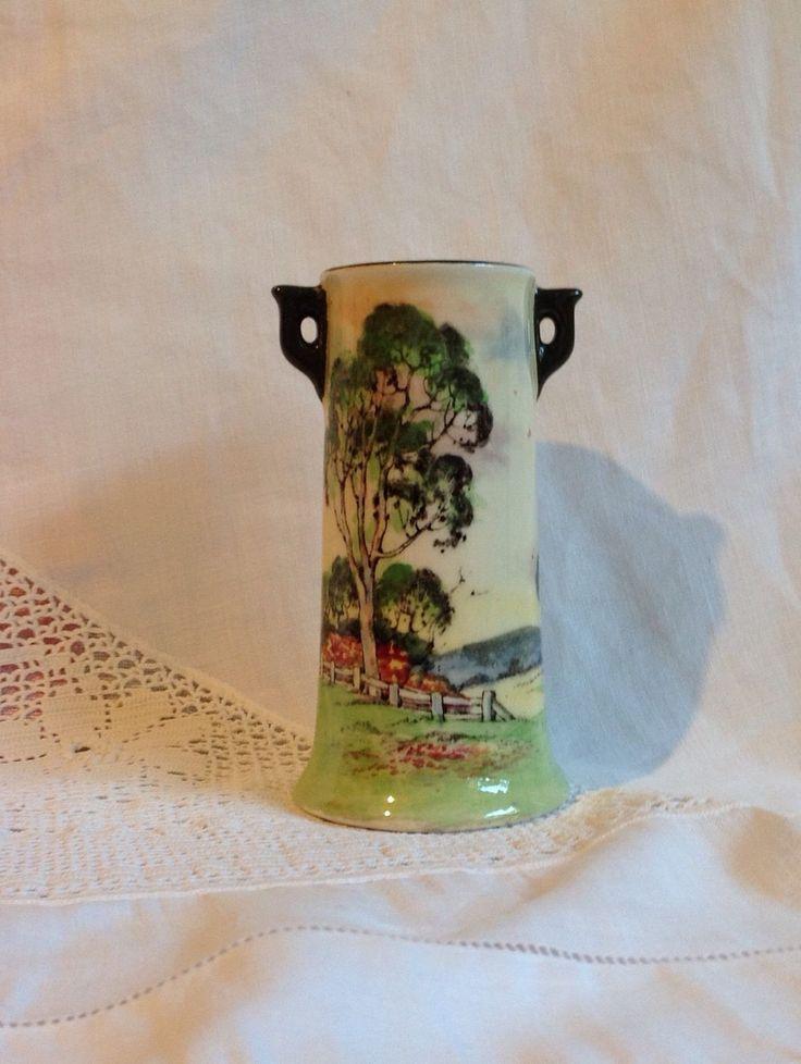 Royal Doulton Vase Australian GUM Tree Series Excellent Condition | eBay
