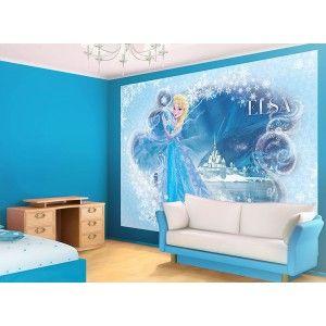 Fresque murale La Reine des Neiges Elsa Frozen Disney papier peint Maxi poster
