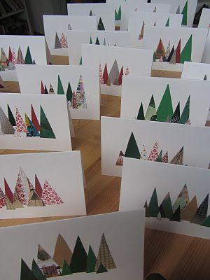 Kerstkaarten 2013. Veel werk maar grappig effect, volgend jaar een serie maken op de rest rode kaarten, die ik nog heb liggen.