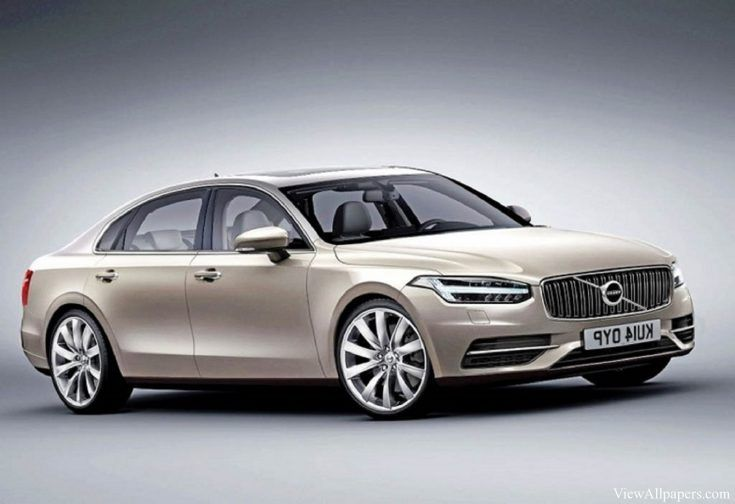 The interior of the new Volvo S90 also borrows most of its  elements from the XC90. 2017 Volvo S90 will use four-cylinder D4 turbodiesel engine with 190 HP. #2017Volvos90 #s90