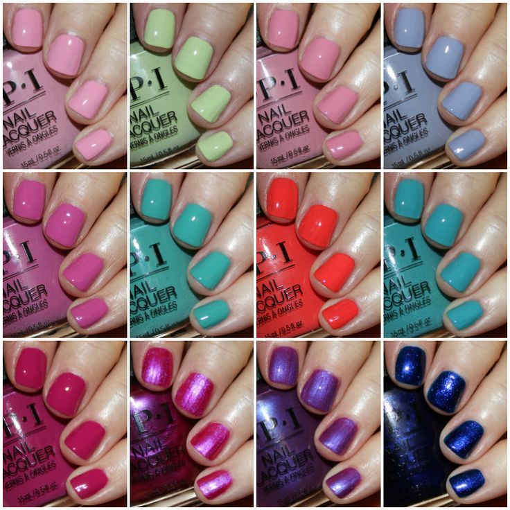 Opi Tokyo Spring 2019 Collection We Would Like To Thank You If You
