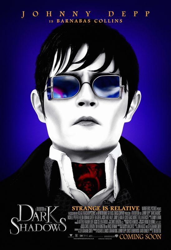 Halloween ~ Johnny Depp in Tim Burton's 'Dark Shadows,' 2012