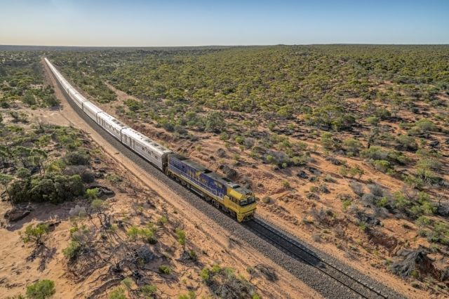 (The Indian Pacific) Ten Incredible Trips To Take In Australia: Best for train buffs-One of the world's great train journeys, the Indian Pacific is a must for rail enthusiasts visiting Australia. It is one of the country's two trans-continental railways, which traverse the country north to south and east to west, linking one ocean to another. The east to west journey from Sydney to Perth covers 4,352 km and takes three nights to complete, passing through the Blue Mountains, mining towns…