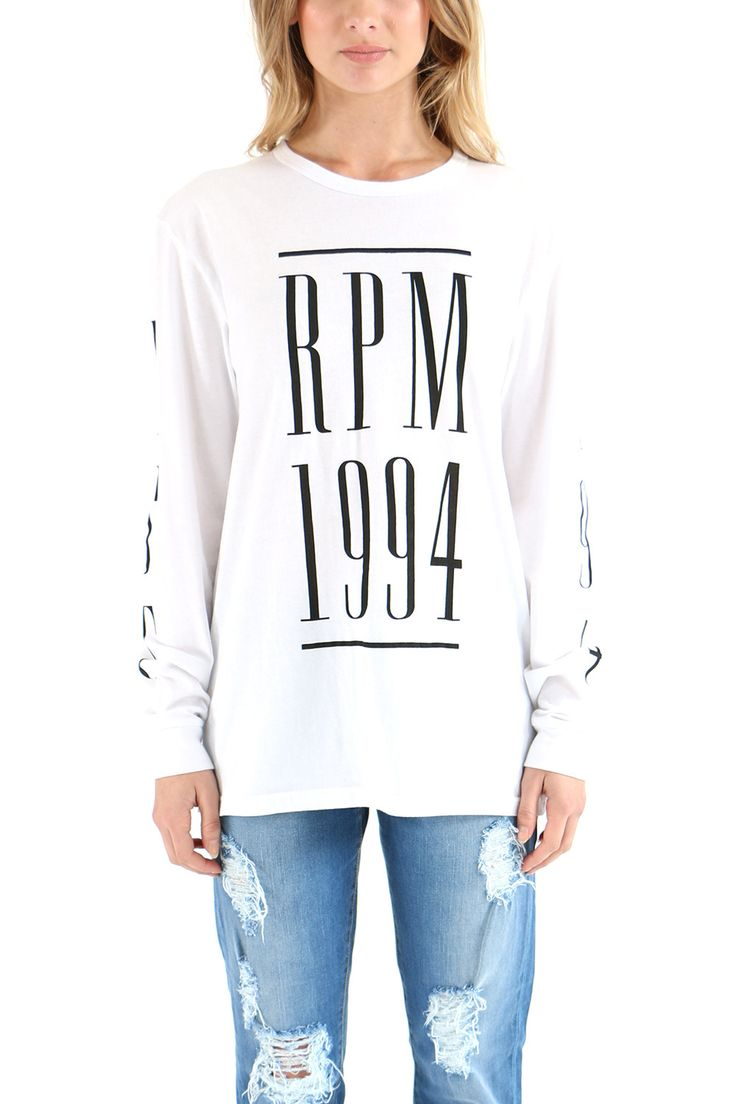 RPM Vogue Long Sleeve Tee - Long Sleeve T-Shirts | North Beach