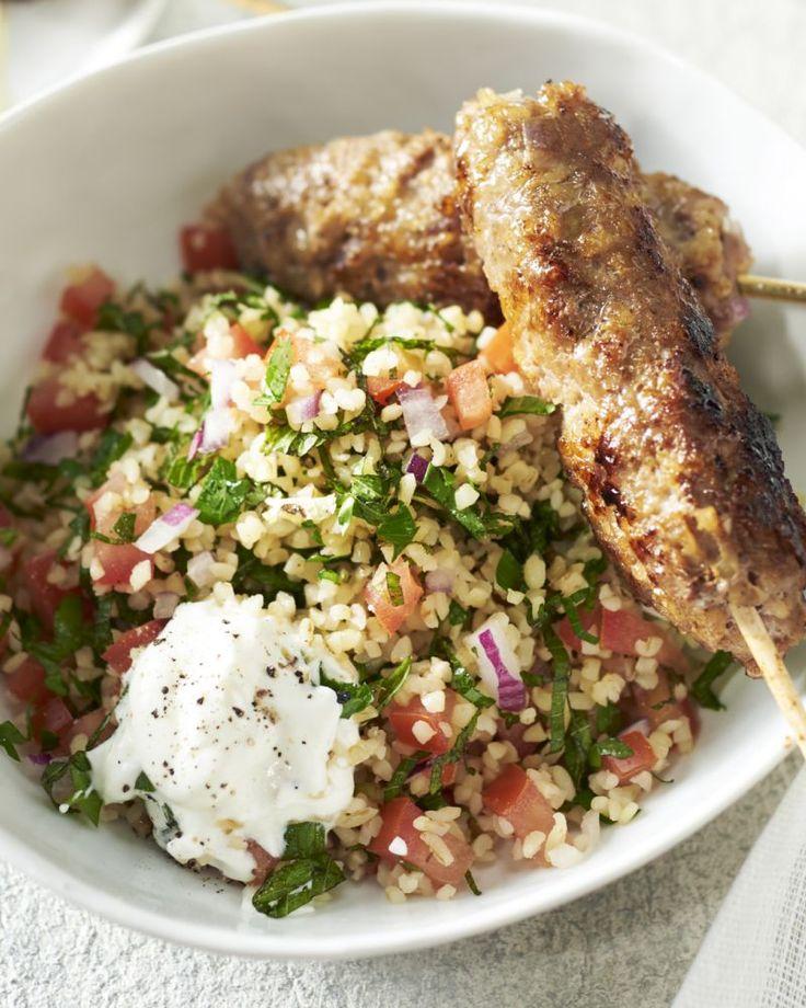 Een heerlijk gerecht dat je meeneemt naar het Midden-Oosten. Deze lamskebabs zijn lekker kruidig en verrassend van smaak.