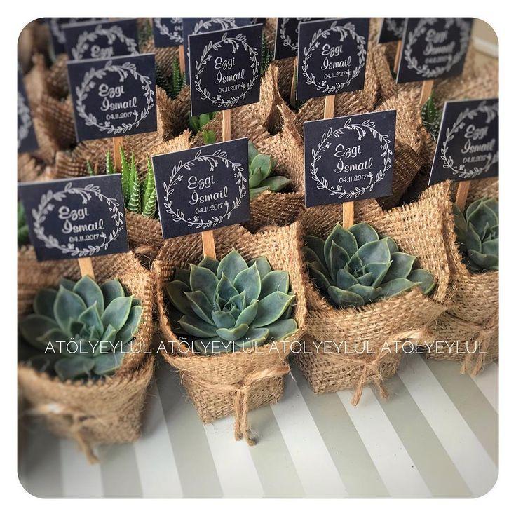 Ezgi❤️İsmail 💫 #sukulent #succulents #kaktus #cactus #succulove #nikahsekeri #babyshower #disbugdayi #birthdaygift #kurumsalhediye #weddingfavour #gift #favors #hediyelik #weddinggift #nişanhatırası #nişanhediyesi #sözhatırası #sözhediyesi #love #düğünhediyesi #düğünhatırası #kırdüğünü #l4l #picoftheday #flowers #bestoftheday #vsco #vscocam #vscowedding