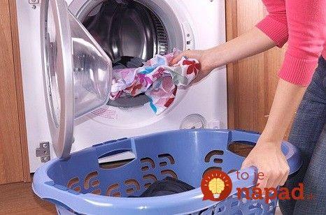 Robíte Túto chybu pri praní aj vy? Ničíte nielen práčku, ale ohrozujete aj svoje zdravie!