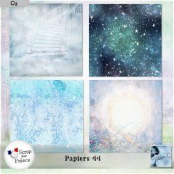 Papiers 44 (Cu) by Louise