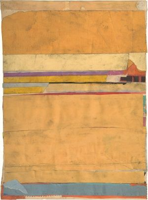 Such a sense of space and quietness.   Richard Diebenkorn