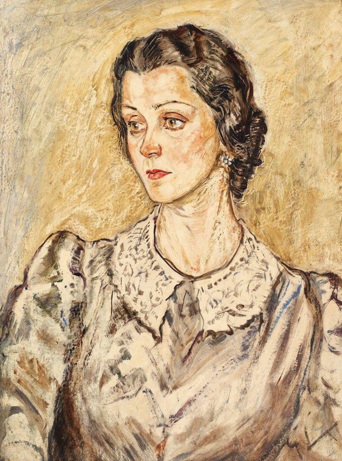 Portretul scriitoarei Nella Stroescu