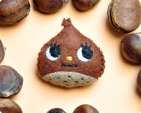 128 best acorns chestnuts pinecones images on pinterest christmas ideas christmas time and diy - Acorn and chestnut crafts ...