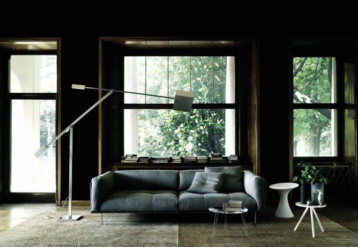 Design furniture and big windows / Arredi di design e grandi finestre