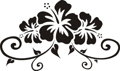 hawaii flower graphic - Google Search