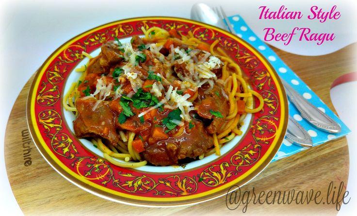 Italian Style Beef Ragu
