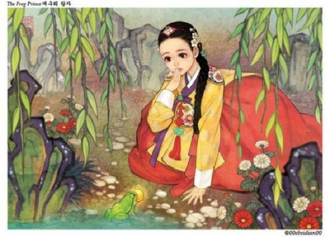 Artist reimagines western fairy tales as if they took place in Korea » Lost At E Minor: For creative people