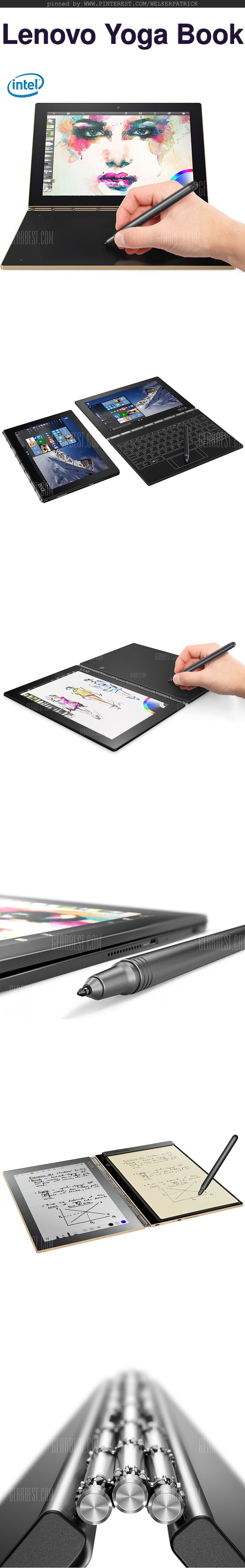 Lenovo Yoga Book …  not only for #artists /// #drawing #sketching #doodle #portable  LOVE IT!