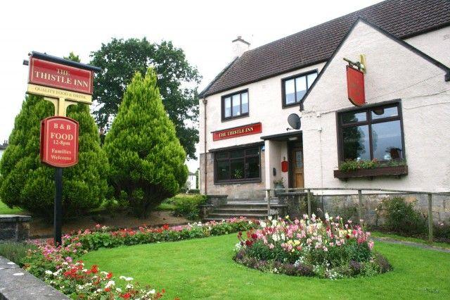 Thistle Inn in Cumnock. #Hoteltipp in #Schottland in der Nähe von #Dumfries.