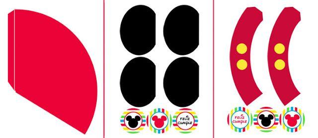 "Mickey Mouse fiesta temática para imprimir ""Gratis"" | Tarjetas ..."