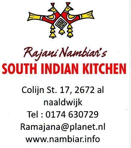 Authentieke huisgemaakte vegetarische Zuid-Indiase gerechten in Naaldwijk