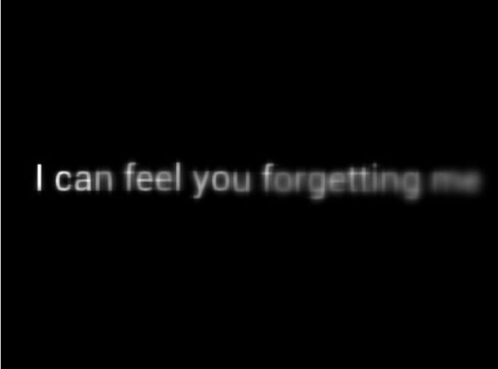 """Its not just knowing, its an emptiness you feel tugging at you. So don't you dare tell me to """"forget those who forget you"""" because it is not as easy as many think."""
