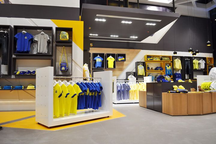 Al Nassr retail store by Redesign Group, Riyadh – Saudi Arabia