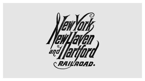 From a designer's blog: a timeline of 100 logos from American and Canadian railroad companies.