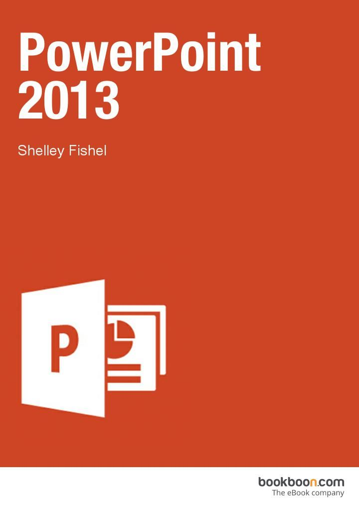 PowerPoint 2013 book available on Bookboon  This user guide will take you through all the things you need to know when using PowerPoint to create professional presentations.