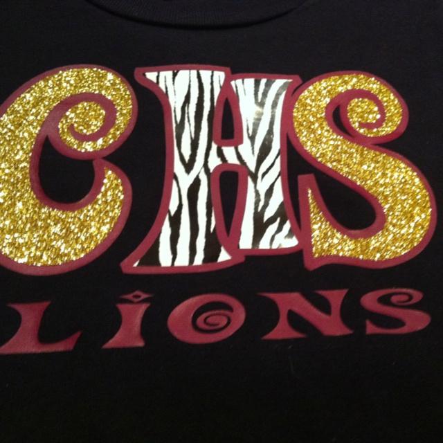 School spirit shirt lions