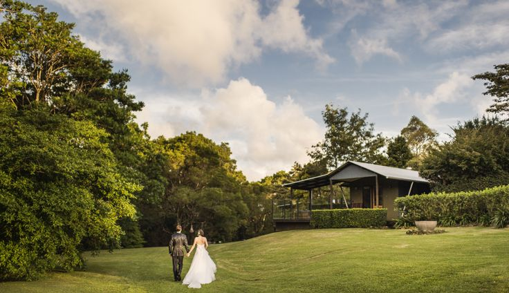 Tranquil rainforest weddings at Spicers Tamarind Retreat