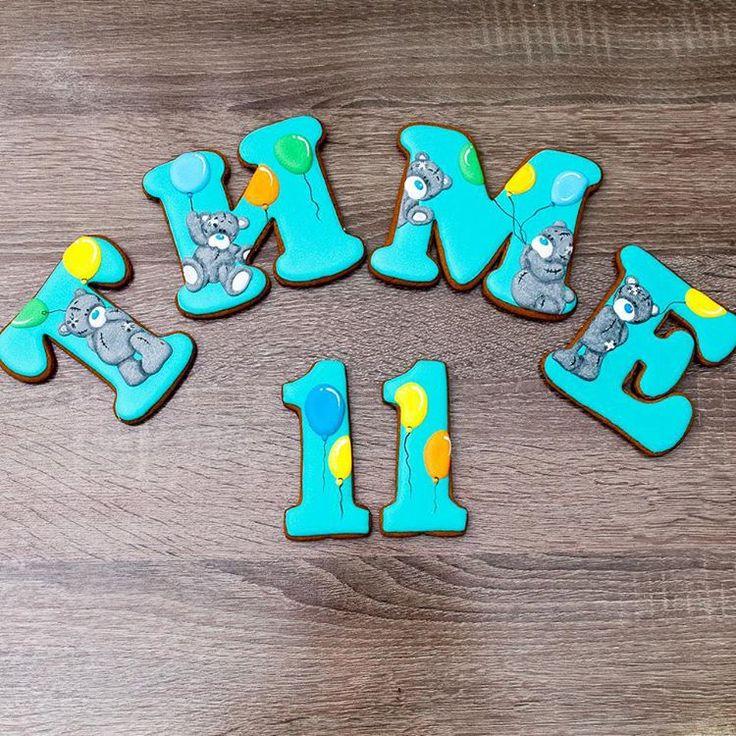 Вчера нашему сынке исполнилось 11 месяцев! Он, наконец, дождался от мамы именных пряников...правда пока только посмотреть ))) #сынка #тимон #детифото #инстадети #инстамалыш #инстамама #instababy #instakids #пряник #пряники #gingerbread #cookiesdesing #cookiedesing #sugarcookies #имбирноепеченье #имбирныепряники #имбирныйпряник #имбирныепряникиназаказ