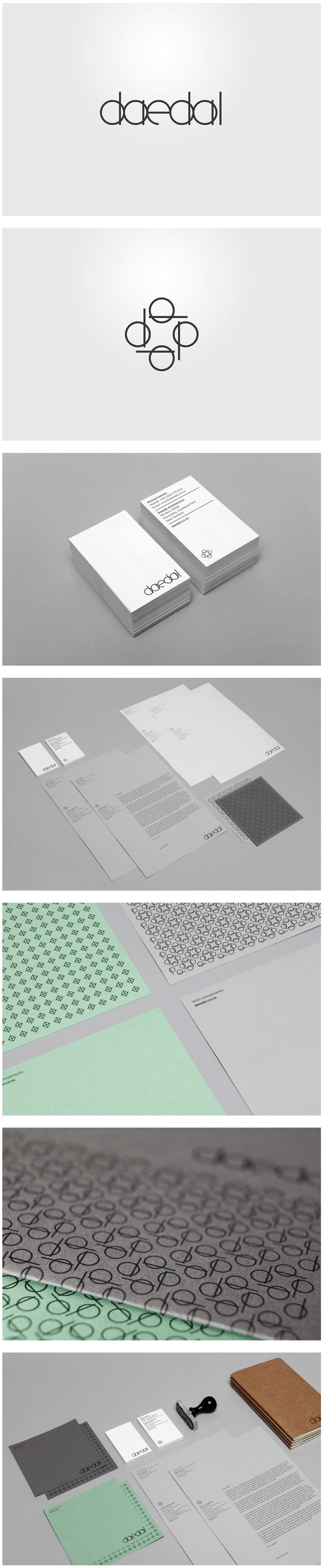 Daedal Architecture (updated) - mike collinge - design / identity / art direction