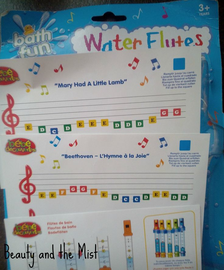 One of my kids had seen a 5-water-flute set at the neighbourhood's toy store and asked if he could buy it. I doubted this package was worth the 15 euros it cost, so I had a look online and en…