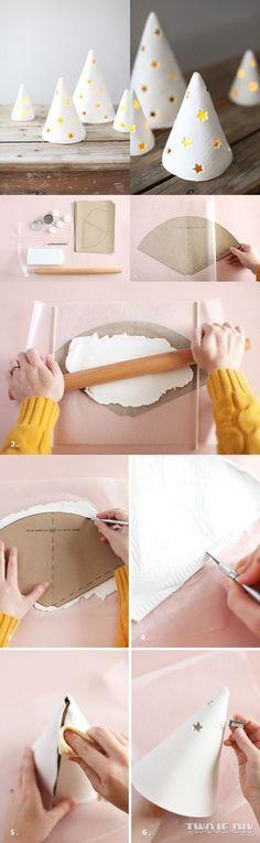 Dossier DIY objets à réaliser en pâte auto durcissante, DIY dry clay for home by Moma                                                                                                                                                                                 Plus
