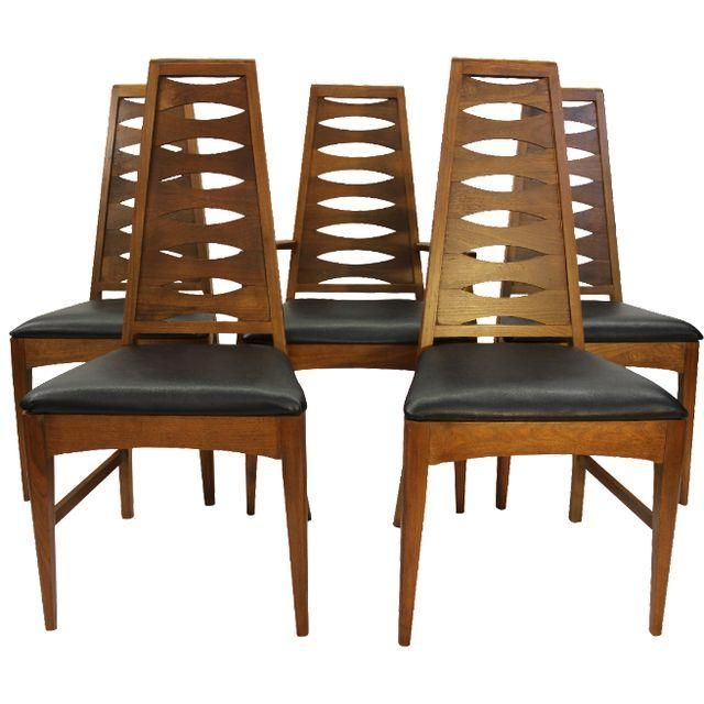 Image Of Mid Century Dining Chairs Broyhill