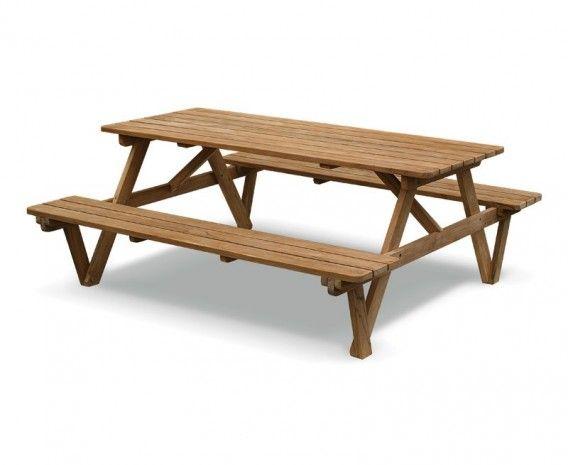 Teak 6ft Garden Pub Bench | Teak Picnic Table  sc 1 st  Pinterest & 15 best Companion Benches - Love Seats images on Pinterest | Outdoor ...