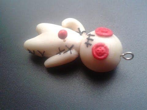 DIY Polymer clay: Tutorial Voodoo-Doll! x_x - YouTube