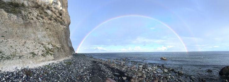 Rügen, Kap Arkona, Regenbogen, Rainbow