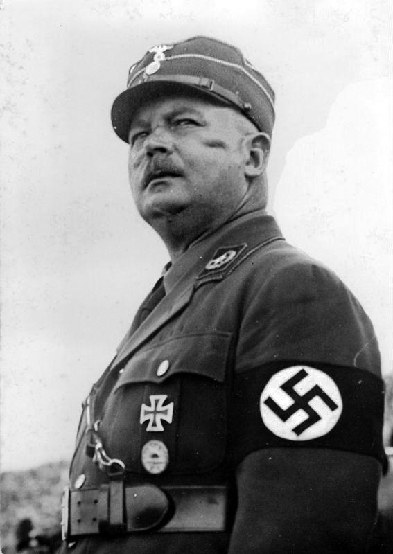 """# Ernst Röhm. Cofundador das """"SA""""-Sturmabteilung(Tropa de Assalto)."""
