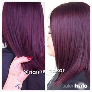 Plum Hair Color In 2018 Styles